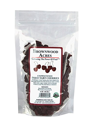 Unsweetened Dried Cherries By Brownwood Acres Just